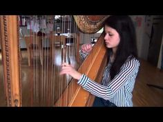 Hall of Fame - The Script feat. will.i.am Harp Cover - YouTube