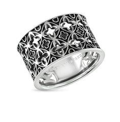 Кольцо из серебра SG: белое серебро 925 пробы — купить в интернет-магазине SUNLIGHT, фото, артикул 26266