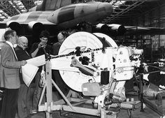 Vulcans in Camera - Avro Vulcan being converted to a tanker at Woodford. Vickers Valiant, V Force, Avro Vulcan, Lest We Forget, Royal Air Force, Cold War, Military Aircraft, Past, Aviation