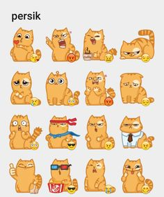 Lovecat Telegram stickers set Animated Gifs, Emoji Symbols, Telegram Stickers, Web Project, Anime Cat, Character Design References, Cat Drawing, Character Illustration, Sticker Design