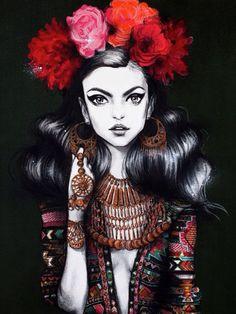 #fashion #illustration #donneVincenti