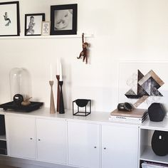 Original Rolf™ candlesticks black, teak and oak, by freemover.se Maria Lovisa Dahlberg - Simply Scandinavian Living