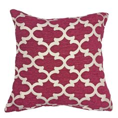 Henlow Cushion Cover Burgundy