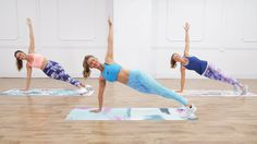 30-Minute, No-Equipment Toning and Calorie-Burning Workout From Anna Victoria - YouTube