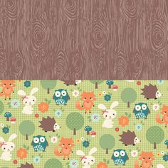 FREE printable woodland paper: My Owl Barn