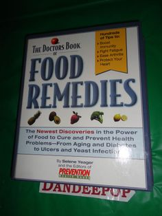 The Doctors Book Of Food Remedies 1997 Book find me at www.dandeepop.com