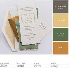 18 Olive and Gold Paint Color Schemes, Colour Pallette, Color Balance, Color Harmony, Wedding Color Combinations, Color Combos, Web Design, Brand Design, Pantone Color