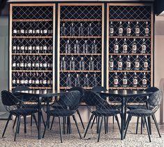 Nika Zupanc decora bar na Eslovênia Aperitivo AS é tão poético quanto peças da designer