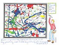 Jackson Pollock Lesson with Mixture of Matisse and Mondrian! Art Activities For Kids, Preschool Art, Art For Kids, Jackson Pollock, Marble Painting, Marble Art, Painting Art, Paintings, Artist Project