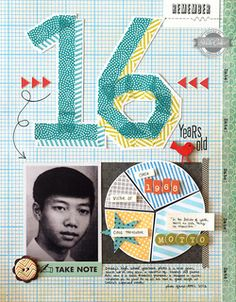 16 by qingmei at Studio Calico...washi title