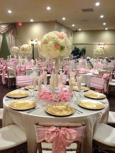 Quinceanera Hall Decorations Pink Quince ideas on Pinter...