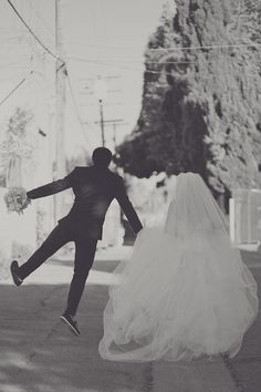 happily ever after begins with a jumping side kick  Photography by closertolovephotography.com