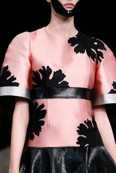 Alexander McQueen Spring 2015 Ready-to-Wear Fashion Show Details