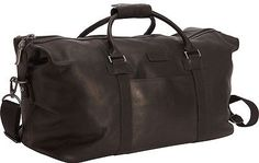 7464845c7a Reaction Kenneth Cole I Beg to Duff-er Colombian Leather Duffle - Brown
