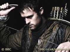 Jonas Armstrong: Robin Hood  Loved this on BBC America