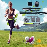 100% Brand new and high quality Length of running belt:31.5 inch-38 inch Length of dog leash: 57inch