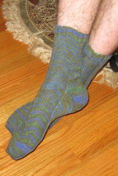 """Manly"" socks for Eric"