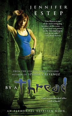 Jennifer Estep is one of my bubblegum writers I can't put the book down when i'm reading it but it's not a great literary development. It was nice to see the character development with Brianna in this book and the closure of Donovan and Gin's relationship.
