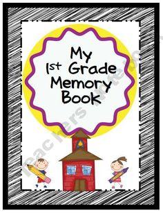 End of Year Memory Book K-3