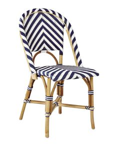 Rattan And Woven Bistro Chair