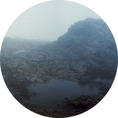 through a porthole window? Arthur's Seat by Laura Bell.