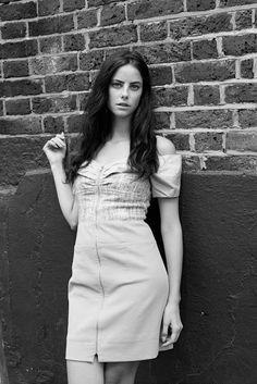 Kaya Scodelario in Elle US November 2012 by Eric Guillemain