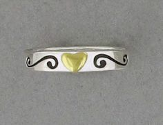 """FAR FETCHED Sterling Silver /""""NAMASTE/"""" ring"""