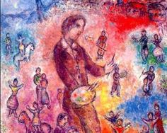 Artist at a Festival - Marc Chagall