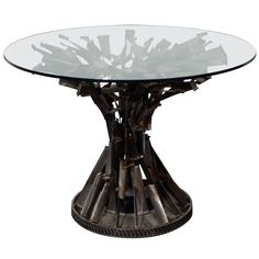 1stdibs - Sculptural Center Table by Michel Guino