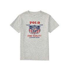 Polo Ralph Lauren® Boys' 2T-20 Short Sleeve Jersey Graphic Tee