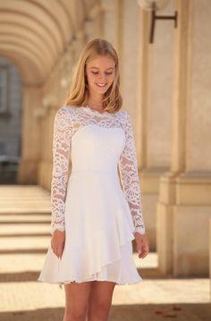 Dress Outfits, Fall Outfits, Fashion Dresses, Fall Dresses, Prom Dresses, Wedding Dresses, Confirmation Dresses White, Marie, Autumn Fashion
