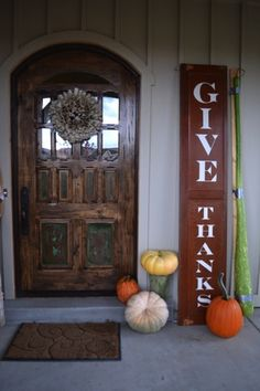 Studio 5 - Fall Décor with Shelf Life  and the beautiful front door and also the color of the board and batten siding