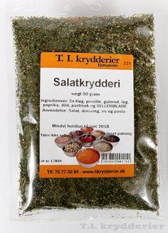 Salatkrydderi | TI Krydderier