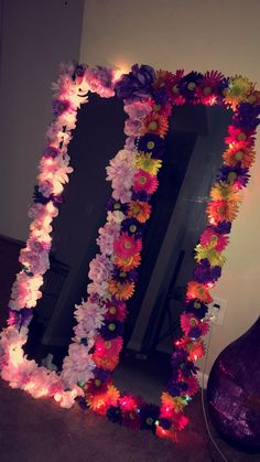 Flower Mirror #DIY