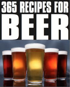 $9 For 365 Beer Recipes  in a single cookbook? A new beer recipe every day? Say it isn't so. Click on the picture to get it for less than a burger meal at Sonic! You don't have to drink it in the garage anymore. Beer Margaritas, Root Beer Pork Chops, Summer Brew, Monaco, Sesame Tempura Green Beans, Wisconsin Slow Cooker Brats, Debra's Pickled Eggs in Beer, Lobster Tails Steamed in Beer, Beer Basted Rabbit, Pork with Peach and Black Bean Salsa, Amazing Ribs, Irish Stew and more.