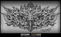 . Wing Tattoo Designs, Owl Tattoo Design, Father Tattoos, Family Tattoos, Skull Tattoos, Sleeve Tattoos, Tattoo Time Lapse, Locket Tattoos, Khmer Tattoo