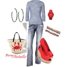 Nautical, created by natalie-buscemi-hindman on Polyvore