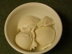 Homemade Almond Milk Ice Cream