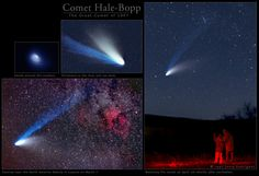 And now for a blast from the past.   Today is the 20th anniversary of Comet Hale-Bopp's (C/1995 O1) perihelion, or closest approach to the Sun.   I've put together a layout of pictures with a couple of my best photos from that apparition.   http://www.astropix..../Hale-Bopp.html   I don't know if you remember that comet, but it was really something!   These were shot on film. I don't know if you remember that either... :-)