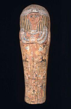 Child's coffin. Pottery. New Kingdom. 19th dynasty. 1295–1186 B.C. | Museum of Fine Arts, Boston