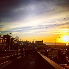 #afm party at he #santamonicapier and then off to my first #femmesfatales meeting. #mondays