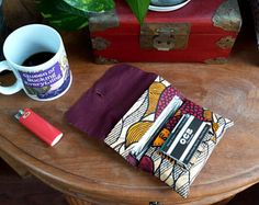 Items similar to cover of rolling tobacco / Tobacco pouch / tobacco / cigarette tobacco case on Etsy Textiles, Couture, Messenger Bag, Satchel, Unique Jewelry, Handmade Gifts, Etsy, Pouches, How To Make