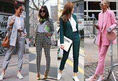 ženský nohavicový kostým Fashion Outfits, Suits, Clothes, Outfits, Clothing, Clothing Apparel, Suit, Kleding, Cloths