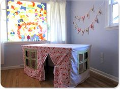 i really want to make one of the for Hailyn's room, but due to limited space i would like to put a mattress and some rails on top with a ladder.