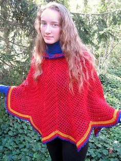 Ravelry: Arya's Poncho pattern by Michele DuNaier