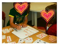 fact families - scroll down on this blog to find the fact family activity. Clever!