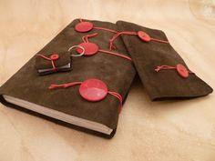 Set of handmade journals