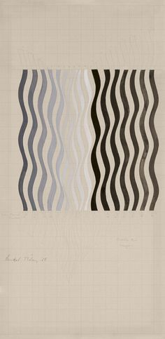 Bridget Riley (b. 1931) | Composition | Drawings & Watercolors | Christie's