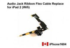 iPad 2 (Wifi) Headphone Audio Jack Ribbon Flex Cable Replace + Tools    Price = $15.00