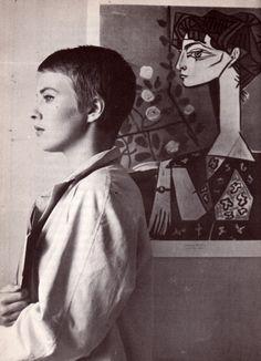 a mulher e a arte